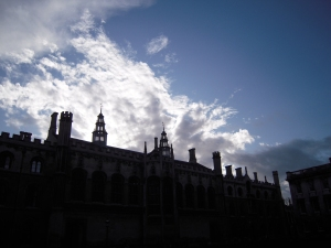 the top of King's College